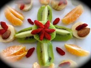 assiette de fruits - emergence-conscience