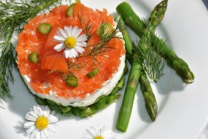 aneth etr saumon cru